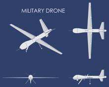 Military Drone Predator.