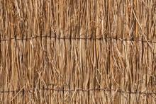 Close Up Straw Of Japanese Tha...