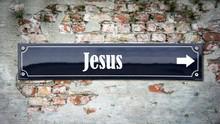 Schild 390 - Jesus
