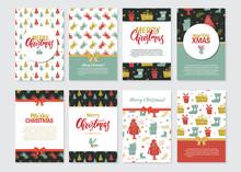 Christmas Set Of Greeting Card...