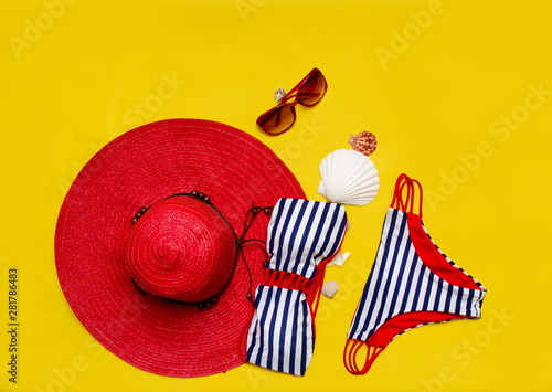 Recess Fitting Graphic Prints women's beach accessories