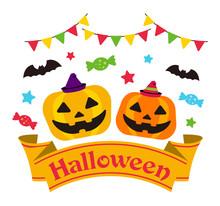 Happy Halloween / Cartoon Pump...