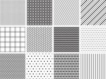 Seamless Geometric Patterns Three