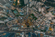 hong kong Kwun Tong at aerial view