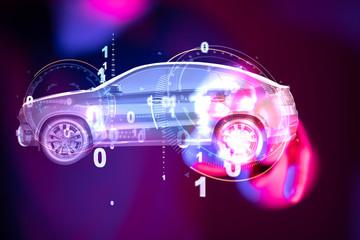 digital car technology smar...