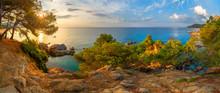 Spain, Catalonia. Costa Brava Coast.
