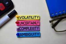 Volatility Uncertainly Complex...