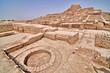 Leinwanddruck Bild - Mohenjo-daro -  an archaeological site in the province of Sindh, Pakistan