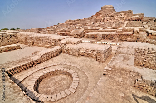 Fotografie, Obraz  Mohenjo-daro -  an archaeological site in the province of Sindh, Pakistan