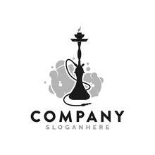 Hookah Logo And Icon Template