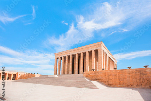Fototapeta Anitkabir - Mausoleum of Ataturk, Ankara Turkey