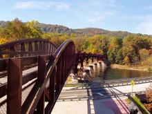 Bridge On The Great Allegheny ...
