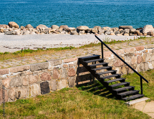 Valokuva  Stairway  Leading to a Sea Wall