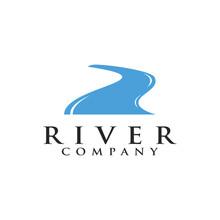 River Simple / Minimalist Logo Design Inspiration