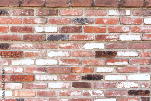 A rustic retro style brick wall background