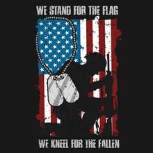 Veterans Day Memorial USA FLAG VECTOR