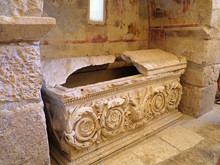 Sarcophagus In The Church Of S...