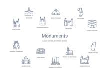 Monuments Concept 14 Outline I...