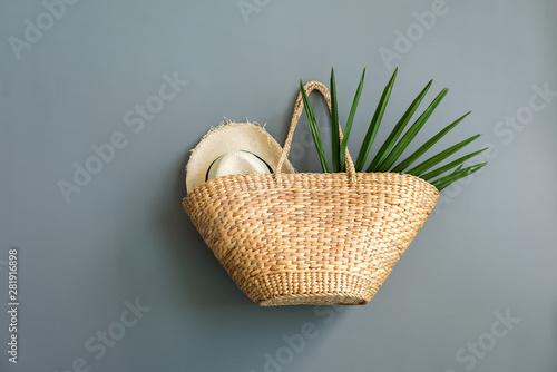 Photographie Wattled handmade summer bag tren stylish accessory