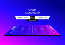 Soccer Match Schedule Vector I...