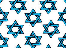 Jewish Holiday Symbol. Vector Drawing