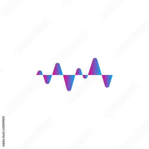Photo  LIquid Audio Spectrum, Wave Music, Sound Equalizer Vector