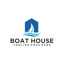 Illustration Of Boat In The House Repair