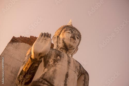 Fotomural  THAILAND PHITSANULOK CHANDRA PALACE RUINS