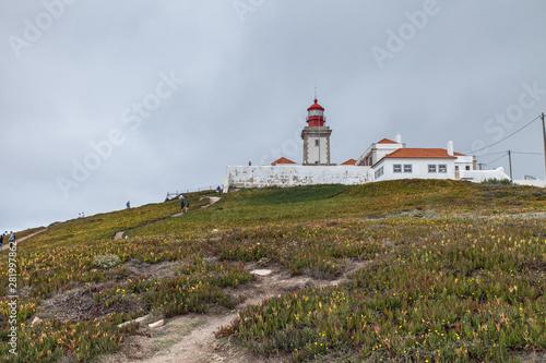 Foto auf AluDibond Cabo da Roca (Portugal) - Phare