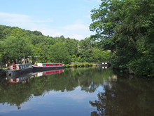 Traditional Barges Moored On T...