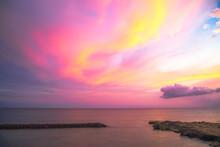 Cotton Candy Hawaiian Sunset
