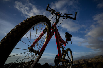 Picture of a Mountain Bike ...