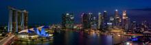 Singapore Cityscape At Magic H...