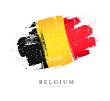 Flag Of Belgium. Vector Illust...