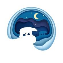 Arctic, Vector Illustration In...