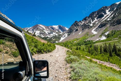 Cuadros en Lienzo road in the mountains