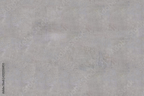 Fotografiet Gray cement stone wall blank background for design, seamless tiling texture