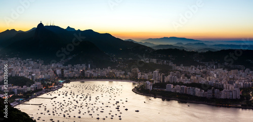 Sunset from Sugarloaf Mountain 4 Canvas Print