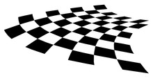 Curved Distorted Checkerboard ...