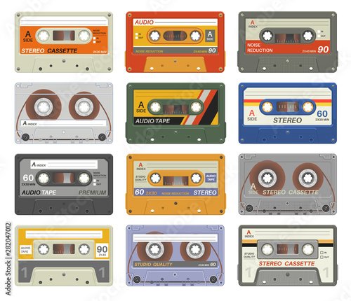 Fotomural  Retro cassettes