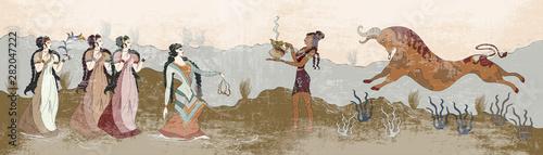 Minoan civilization Tapéta, Fotótapéta