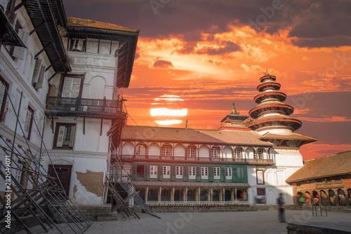 fototapeta na drzwi i meble Patan