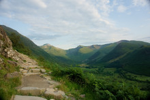 View At The Landscape Of Glen ...