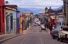Mexico: Oaxaca City Street
