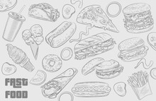 Fastfood Illustrations Collect...