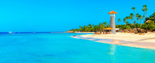 Panoramic View Of The Tropical...