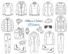 Men's Fashion Set, Clothes And...