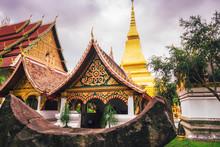 Flim Look Of Wang Kham Temple, Khao Wong District, Kalasin Province Famous Tourist Destinations In Thailand