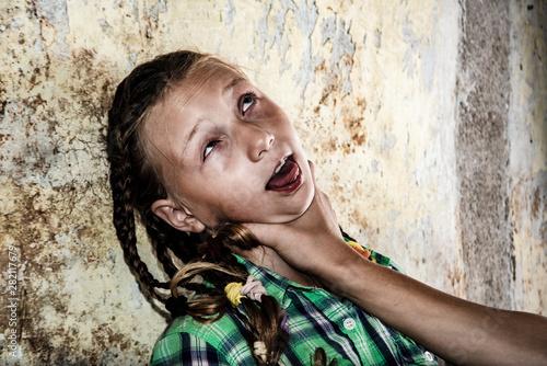 Girls strangling boys