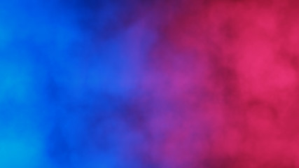 Blue and red abstract cloud...